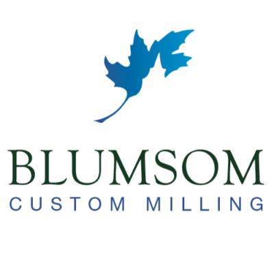 BLUMSOM CUSTOM MILLING LOGO